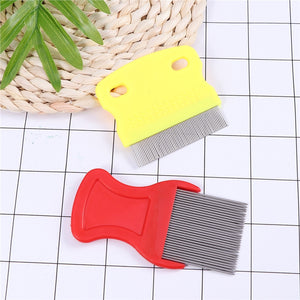 2Pcs Flea Comb for Pets