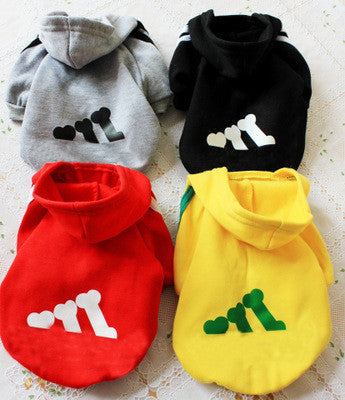 Athletic Pet Hoodie
