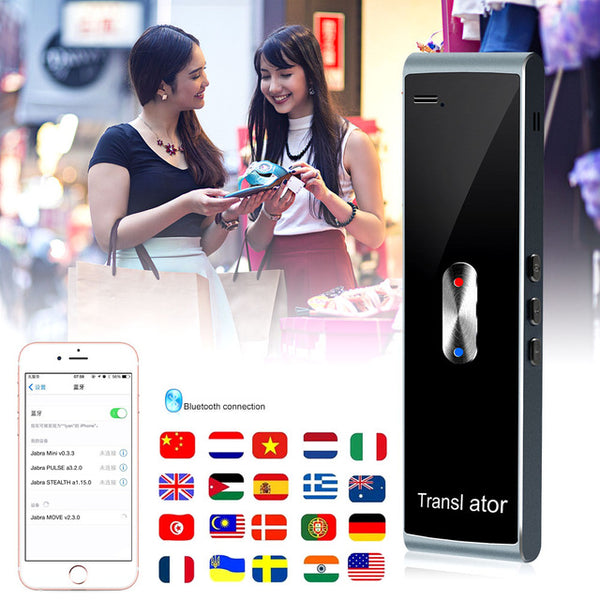 Real Time Voice Language Translator Device w/ app - Bluetooth Wireless - EM General