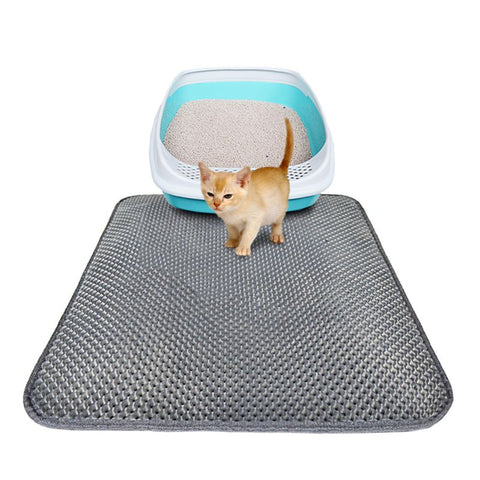Cat Litter Trapper Mat - Double Layer, Durable, Waterproof, Easy Clean - EM General