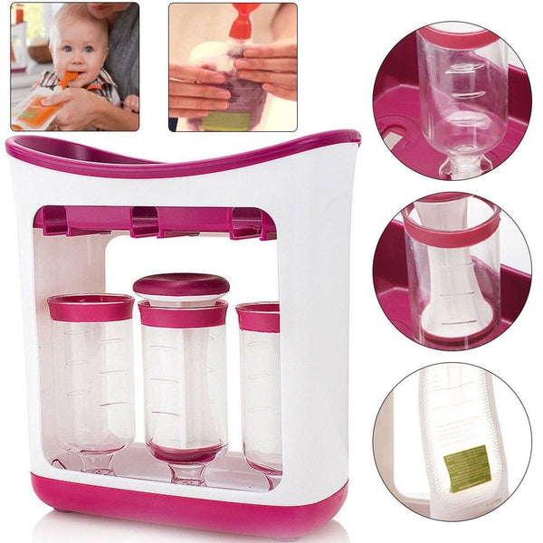 Homemade Baby Organic Food Maker with Food Pouches - EM General