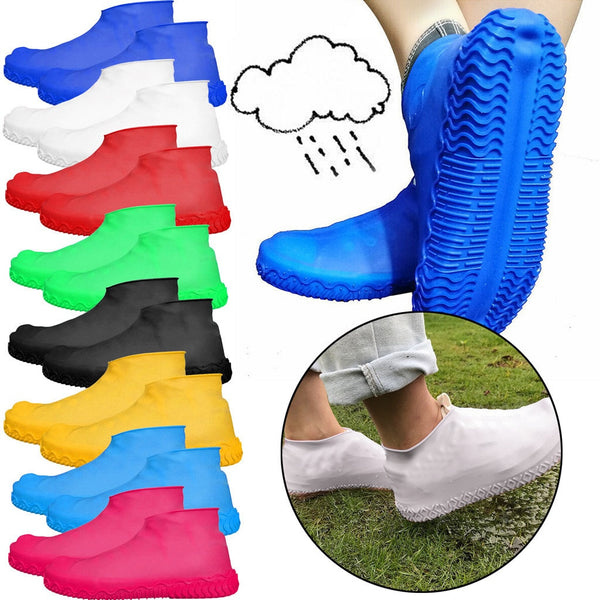 Reusable Silicon Waterproof Washable Shoe Covers - EM General