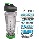 Roller Portable Hand Manual Blender - EM General