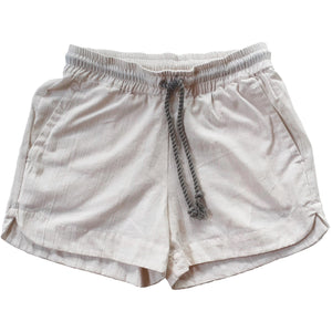 Sport Short in natural white cotton