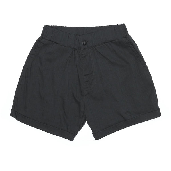 Elastic Chino Short in bamboo cotton - counterfitstudio