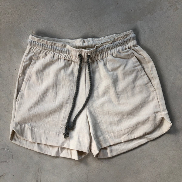Sport Short in off white - counterfitstudio