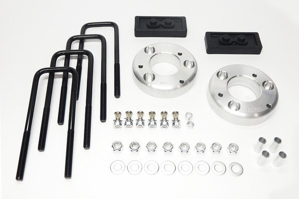 "2014 Ford F150 2WD/4WD 2"" Ford Level-Lift Kit (Includes front strut extensions, 1"" rear blocks)"