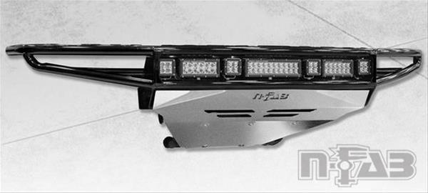 Chevy, 14-15 1500 N-Fab C141MRDS-TX Textured Black M-RDS Front 2pc Bumper