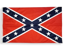 Load image into Gallery viewer, Confederate Flag | 3x5 Polyester Stainless Banner | Bright Colored Rebel Flag | Shipped from USA