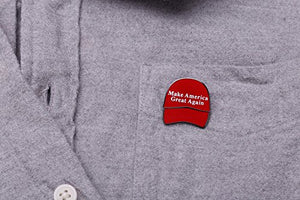 Donald Trump President Make America Great Again Lapel Pin