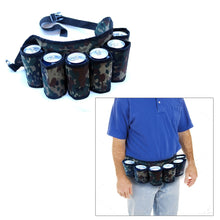 Load image into Gallery viewer, Beer and Soda Belt Holster | Holds 6 Beverages