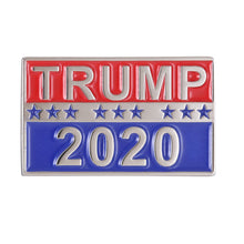 Load image into Gallery viewer, Donald Trump For President 2020 Enamel Pin
