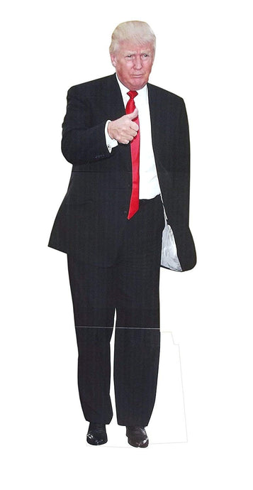 Life Size Donald Trump | Novelty President Trump Cardboard Stand-up
