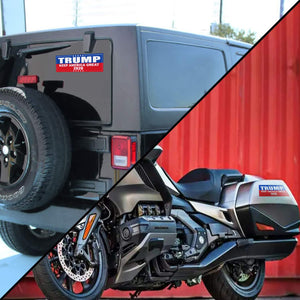 9 X 3 inch Trump 2020 Keep America Great Decal - Car and Truck Reflective Bumper Stickers - 2020 United States Presidential Election (3 Pack) Keep America Great 2020