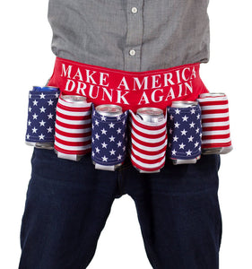 Donald Trump Beer Belt | Make America Drunk Again | Donald Trump Beer Holster