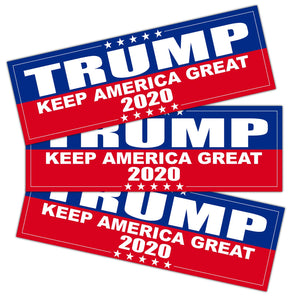 9 X 3 inch Keep America Great Decal - Car and Truck Reflective Bumper Stickers