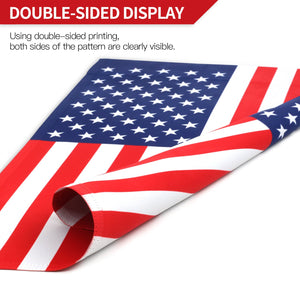 Double Sided USA Garden flag 18 x 12.5 Inches