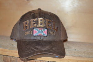 Rebel Flag Hat | Rebel Since 1861 | Confederate Flag Cap