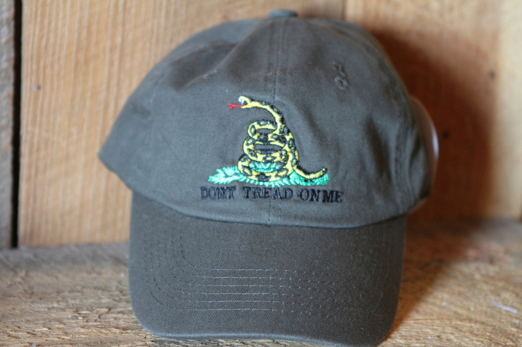 Gadsden Don't Tread On Me Hat | Patriotic Cap