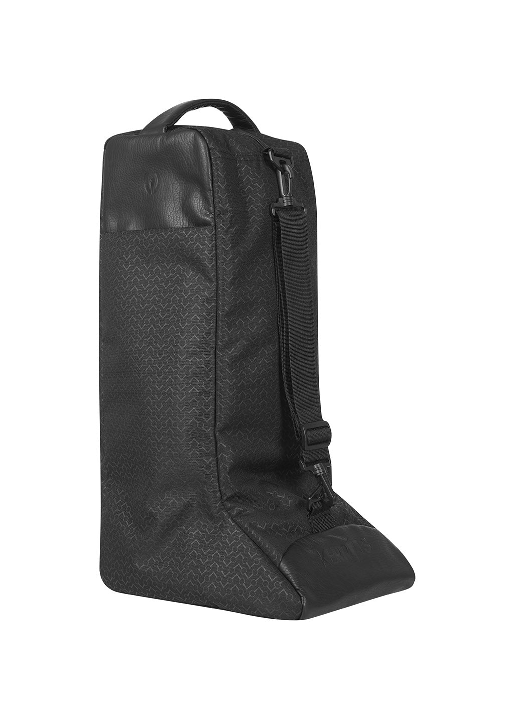 BLACK CHEVRON BITS::variant::EQ Boot Bag