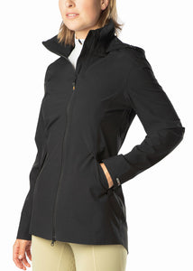 Black::variant::Waterproof Rain Jacket in Black