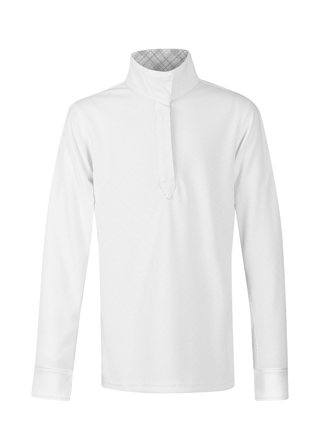 WHITE::variant::Kids Encore Long Sleeve Show Shirt