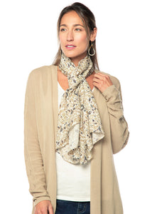 WHITE FILIGREE HORSE::variant::Wrap it Up Scarf