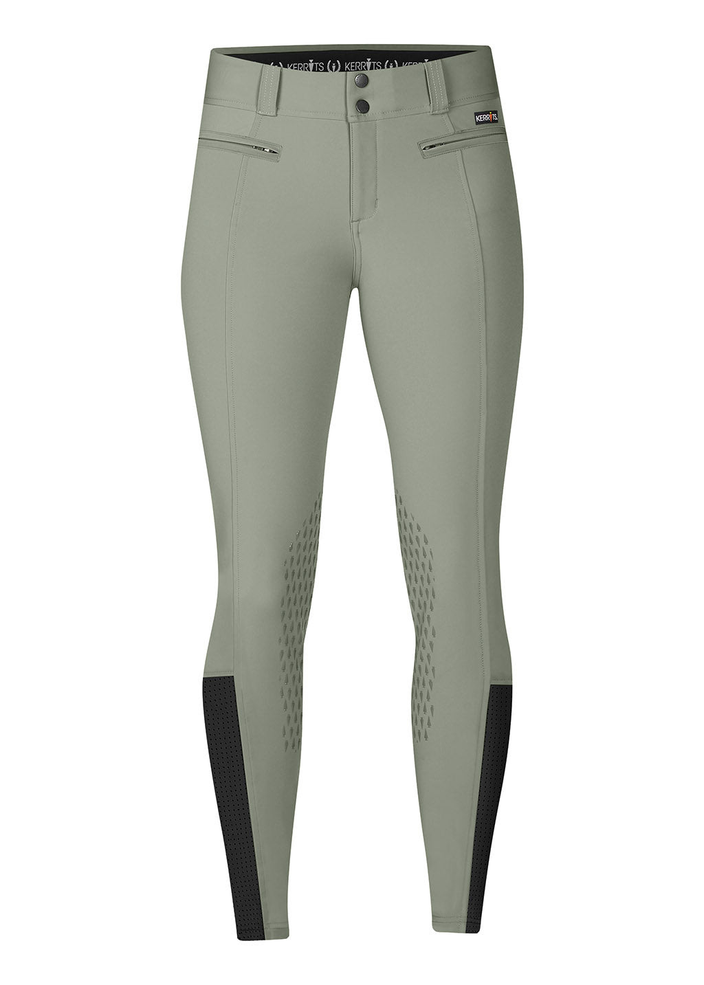 LICHEN::variant::Affinity Ice Fil Knee Patch Breech Front View
