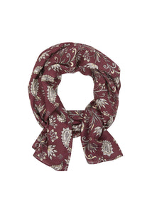Rosewood Horse Paisley::variant::Wrap It Up Scarf