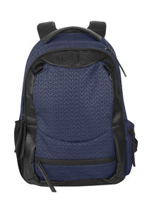 navy chevron bits::variant::EQ Backpack