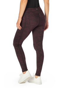 CURRANT/BLACK::variant::Quest Legging