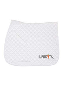 White::variant::Kerrits Saddle Pad