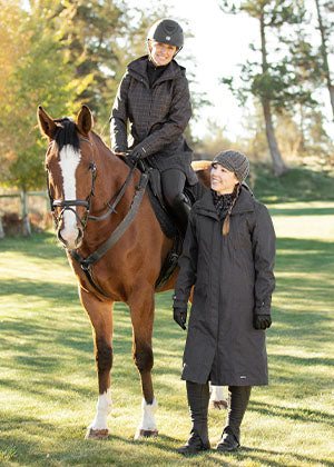 Neutral Horse Riding Clothing