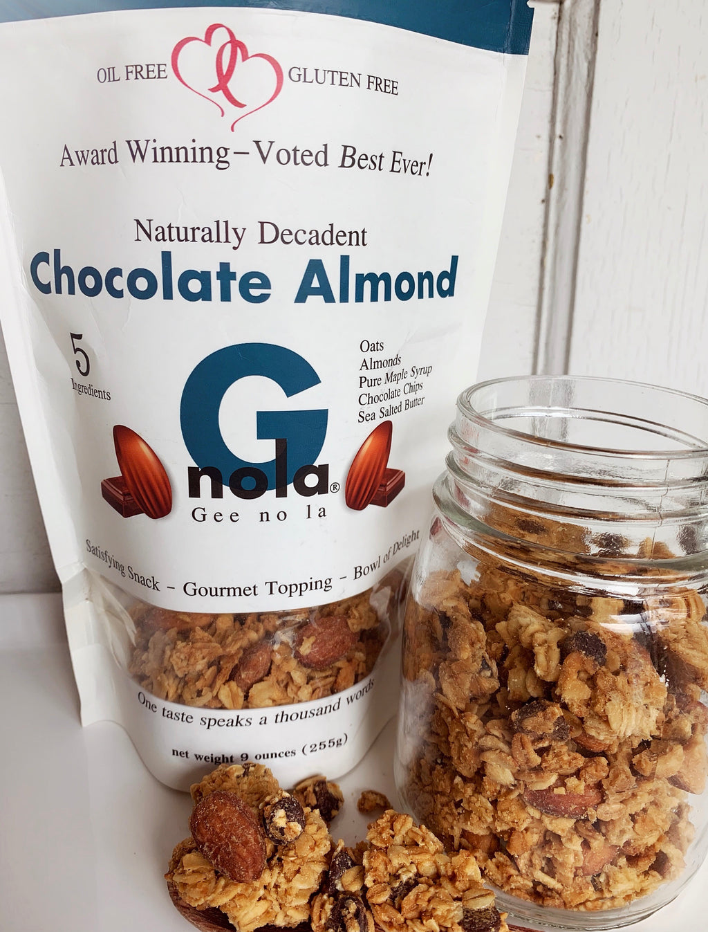 Chocolate Almond - Half Case 4 Bags