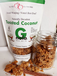 Toasted Coconut - Half Case 4 Bags