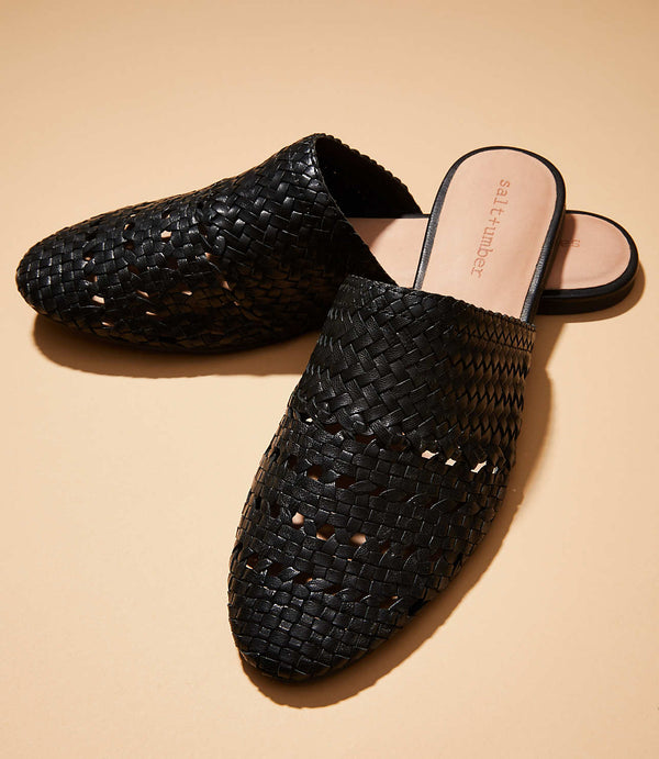 LILY Handwoven Mule
