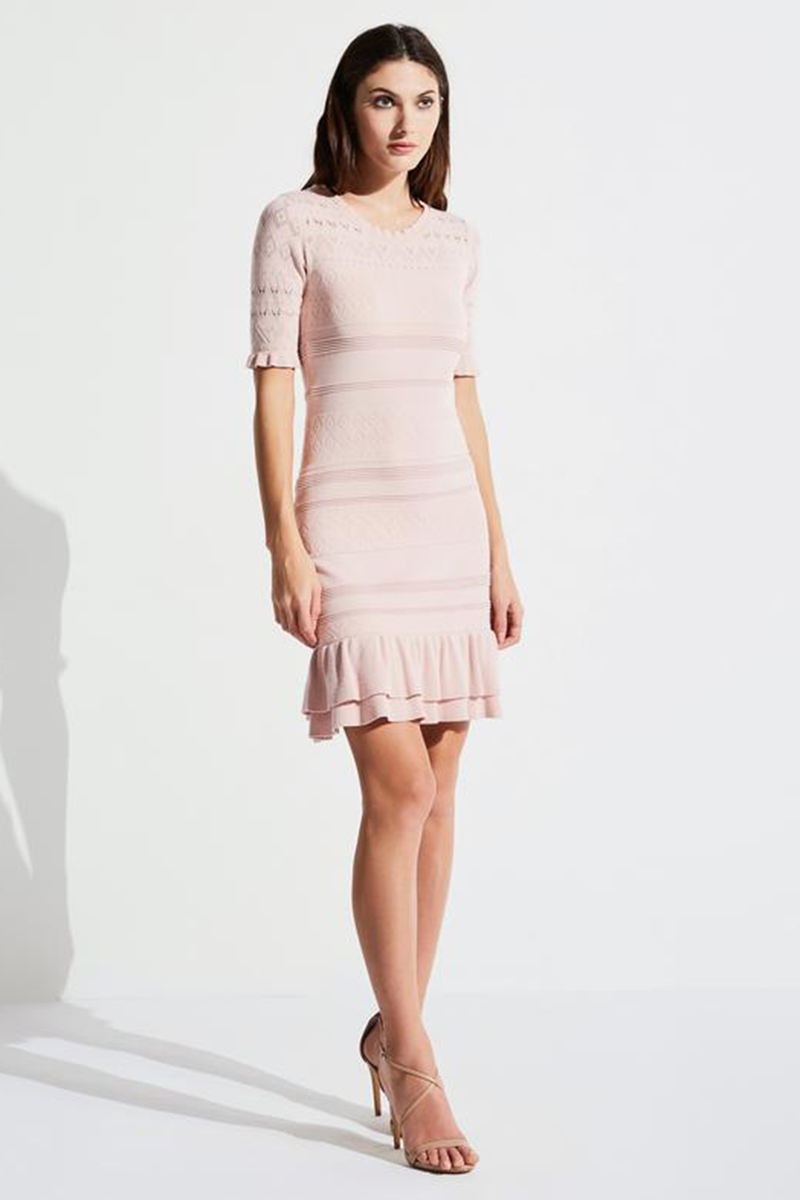 Chantal Knit Sheath Dress