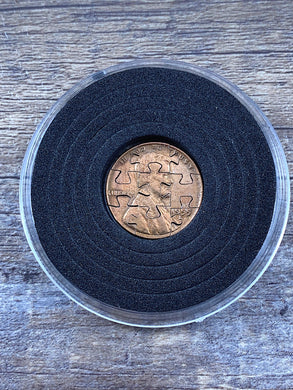 Handmade Wheat Penny Coin Puzzle - 9 Piece