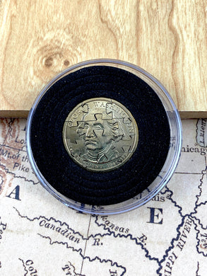 Handmade George Washington Dollar Puzzle Coin - 12 Piece