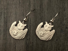 Load image into Gallery viewer, Samoa National Park Bat Earrings