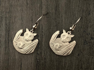 Samoa National Park Bat Earrings