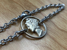 Load image into Gallery viewer, Mercury Dime Bracelet