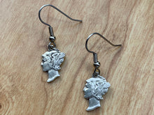 Load image into Gallery viewer, Mercury Dime Earrings Deconstructed