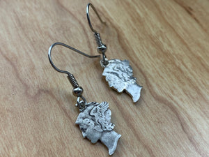 Mercury Dime Earrings Deconstructed
