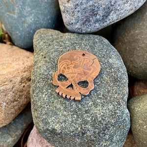 Irish Skull Coin - Reversible Harp/Bird