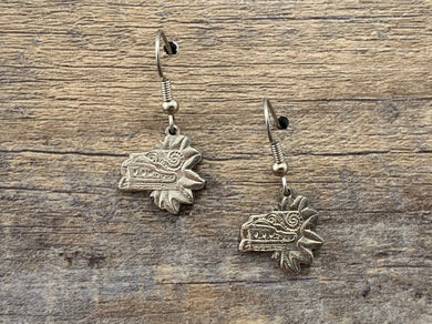 Quetzalcoatl Mexico Charm Earrings