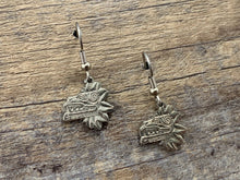 Load image into Gallery viewer, Quetzalcoatl Mexico Charm Earrings