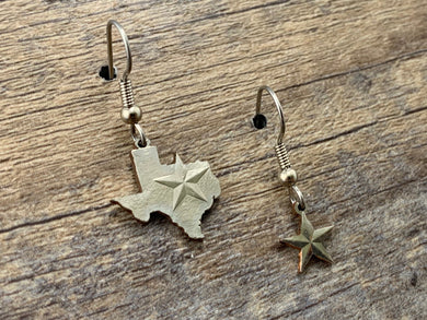Texas Mismatched Charm Earrings