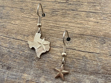 Load image into Gallery viewer, Texas Mismatched Charm Earrings