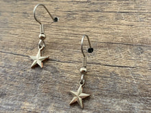 Load image into Gallery viewer, Texas Star Charm Earrings